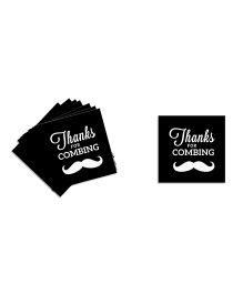The Joy Factory Stash Bash Thank You Tags - Black
