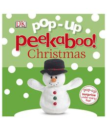 Dk Story Book Pop Up Peekaboo Christmas - English