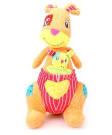 Starwalk Plush Kangaroo Soft Toy Multicolor - 30 cm
