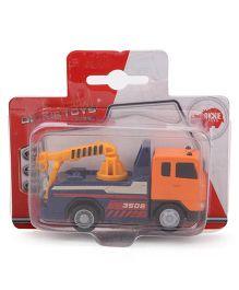 Dickie City Crew Truck - Orange Blue