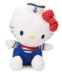 Hello Kitty Sailor Soft Toy Blue White - 25 cm