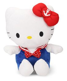 Hello Kitty Plush Sailor Soft Toy Multicolor - 35 cm