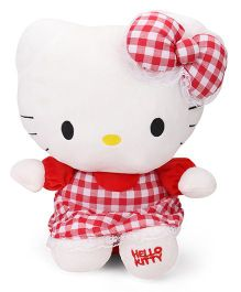 Hello Kitty Plush Soft Toy Red - 35 cm