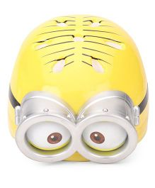 Minions Dave Round Shaped Helmet Yellow - Large