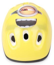 Minions Dave Round Shaped Helmet Yellow - Small