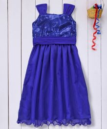 Pspeaches Stylish Long Dress - Blue