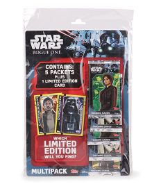 Topps Star Wars Rogue One Collection Multi Pack - 5 Packs Plus 1 Limited Edition Card