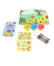 Play Doh Travel Activity Box - Multi Color