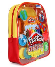 Play Doh Modelling Compound Back Pack Yellow Red - 11 Inches