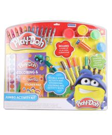 Play Doh Jumbo Activity Kit In Clamshell - Multi Color
