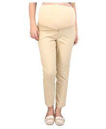 MomToBe Maternity Trouser - Beige