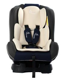 R for Rabbit Jack N Jill Convertible Baby Car Seat - Cream & Grey