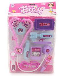 Smiles Creation Mini Doctor Set - Light Pink & Light Purple