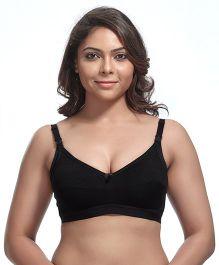 Kriti Maternity Nursing Bra - Black