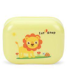 1st Step Soap Box Lion Print - Yellow