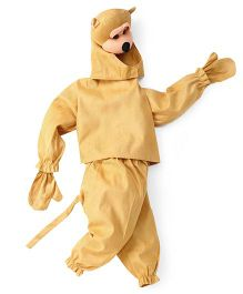 IR Jumping Suit Monkey Theme Costume - Light Brown