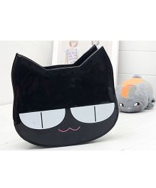 Milonee Cat Face Quirky Sling Bag - Black