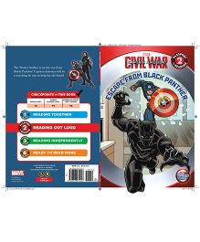 Civil War Captain America Escape From Black Panther - English