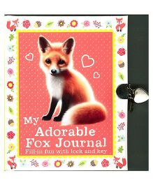 My Adorable Fox Journal Book - English