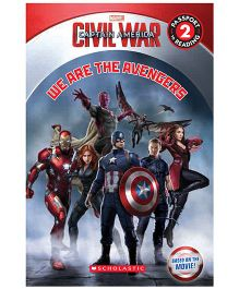 Marvel Captain America We Are Avengers - English