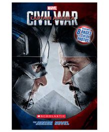 Marvel Captain America Civil War Junior Novel - English