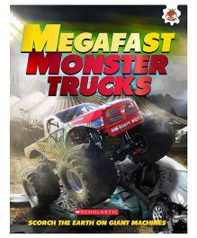 Megafast Monster Trucks - English Book
