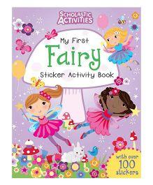 Scholastic Activities Fairy Sticker Activity Book