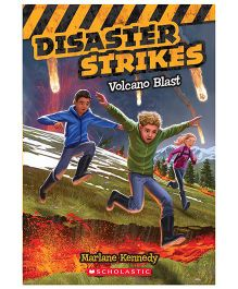 Disaster Strikes 4 Volcano Blast Book - English