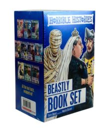 Horrible Histories Beastly Book Set - English