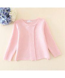 Dazzling Dolls Button Cardigan - Pink