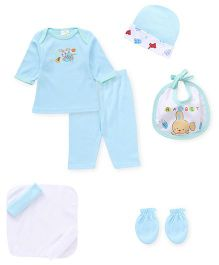 Babyhug Gift Set Pack of 9 - Blue