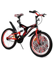 Hot Wheels Cycle With Suspension Black Red -  50 cm