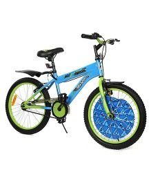 Hot Wheels Cycle Blue Green - 50 cm