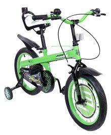 Hot Wheels 16 Inch Bicycle Design - Green