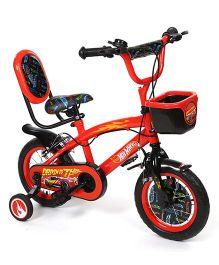 Hot Wheels Bicycle Black Red - 30 cm