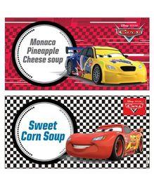 Disney Pixar Cars Food Labels 10 - Multi Color