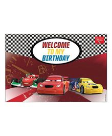 Disney Pixar Cars Welcome Banner - Multi Color