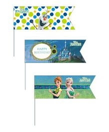 Disney Frozen Fever Picks Pack of 20 - Multi Color