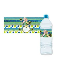 Disney Frozen Fever Water Bottle Labels Pack of 10 - Multi Color
