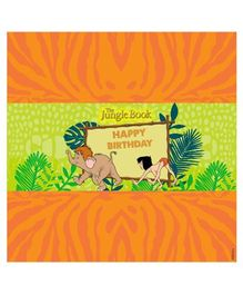 Jungle Book Chocolate Wrappers Pack of 10 - Orange Green