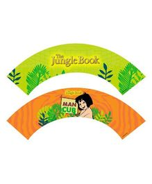 Jungle Book Cupcake Wrappers Pack of 10 - Green Orange