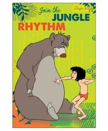 Jungle Book Vertical Banner 01 - Green Grey