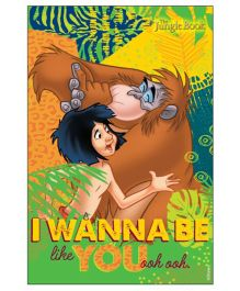 Jungle Book Vertical Banner 02 - Multi Color