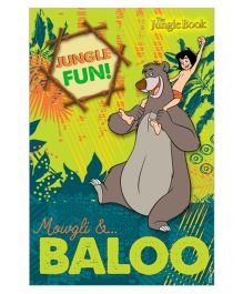 Jungle Book Vertical Banner 04 - Multi Color