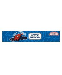 Marvel Spiderman Wrist Bands Pack of 10 - Blue