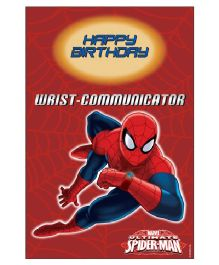 Spiderman Vertical Banner 04 - Red