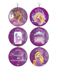 Disney Princess Rapunzel Danglers Pack of 6 - Purple