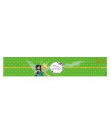 Disney Tinkerbell Wrist Bands Pack of 10 - Green