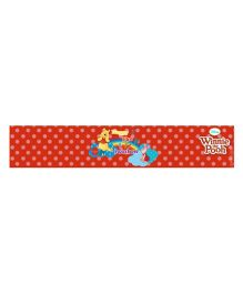 Disney Winnie The Pooh Wrist Bands Pack of 10 - Red