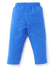 Ollypop Full Length Solid Colour Leggings - Royal Blue